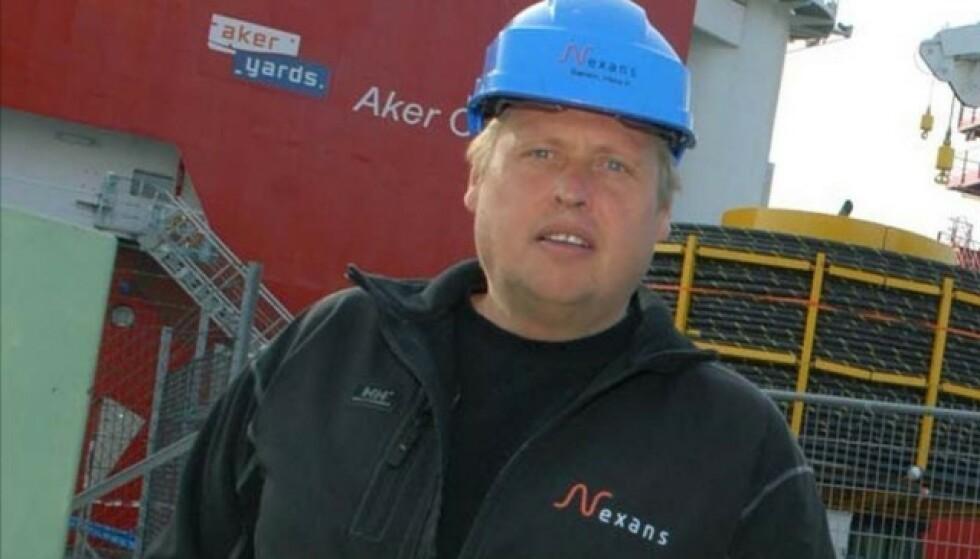 KRISE: Hans Petter Bærem er hovedtillitsvalgt ved Nexans, som med 850 ansatte er en hjørnesteinsbedrift i Halden. - Dette er i ferd med å bli et kjempeproblem, sier han om stengt grense som hindrer svenske dagpendlere å møte på jobb. Foto: Privat