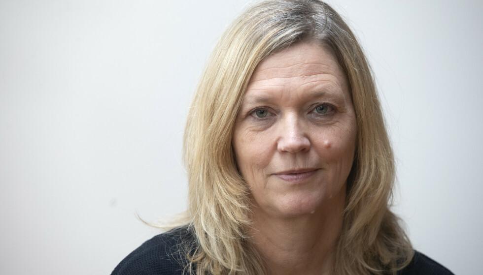 UEGNET: Arbeidslivsdirektør i NHO, Nina Melsom, avviser at permitteringer kan brukes for å sikre lønn for svenske dagpendlere som nektes å stille på jobb. Foto: Terje Bendiksby / NTB