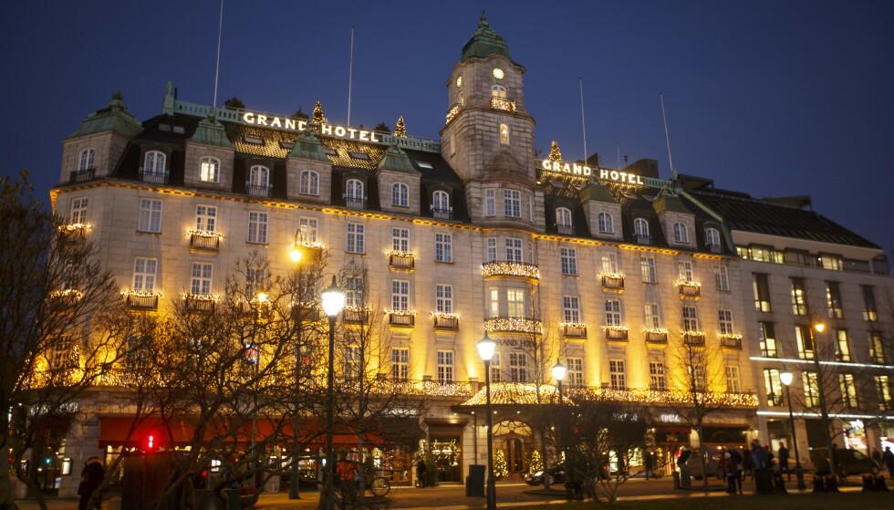 OPPSIGELSER: Scandic, som blant annet eier Grand Hotel, varslet i januar om ytterligere 300 oppsigelser. Det får SV til å rase. Foto: Heiko Junge / NTB