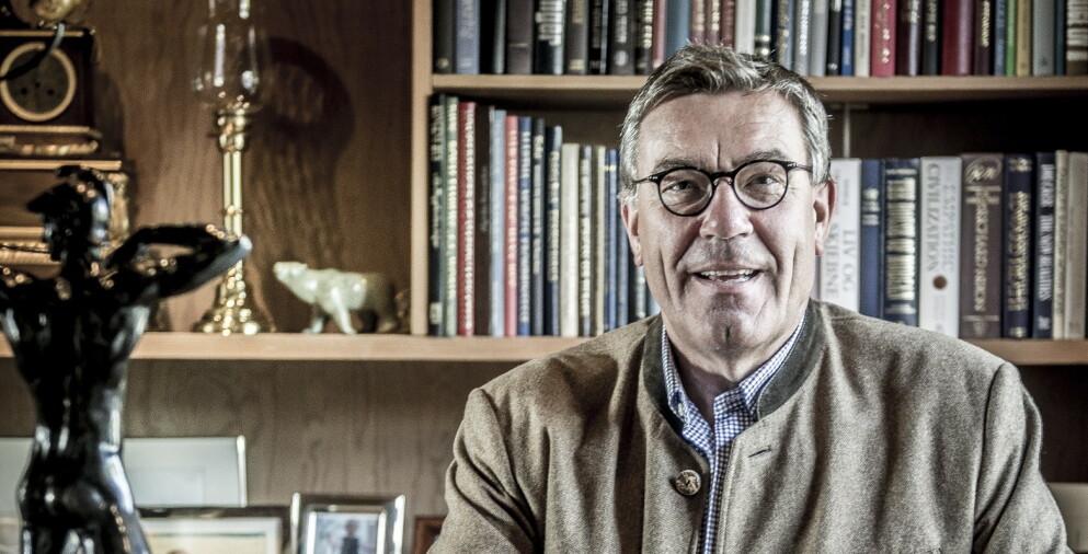SALT: Orklas største eier er Stein Erik Hagens familieselskap Canica, som får til mer enn salt i grøten. Foto: Foto:Thomas Rasmus Skaug