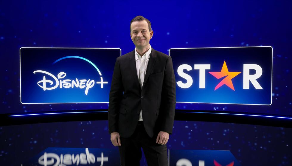 TROR PÅ FRAMTIDA: Disneys Norden-sjef, Hans van Rijn, tror Disneys styrke ligger i at de skaper og eier eget innhold. Foto: Disney