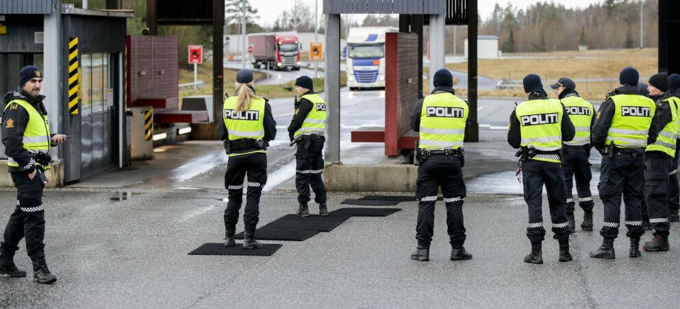 STENGT: Fra 29. januar er Norge stengt for arbeidsinnvandrere - inkludert de mange tusen som bor i Sveige og daglig pendler til sine jobber på norsk side av grensa. Foto: Vidar Ruud, NTB