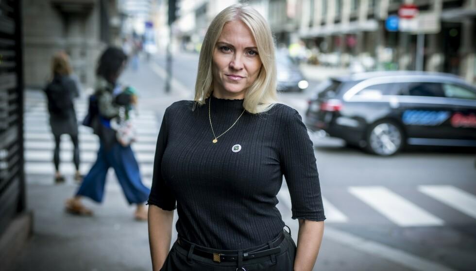 FARVEL, SOLIDARITET: Fjorårets lønnsoppgjør setter modellen for norsk lønnsdannelse i fare, mener Lill Sverresdatter Larsen, leder av Norsk Sykepleierforbund. Foto: Bjørn Langsem
