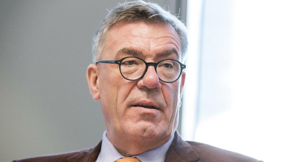 SOLGTE TIL VENN: Milliardær Stein Erik Hagen avviser at han har gått på limpinnen. Foto: Terje Pedersen / NTB