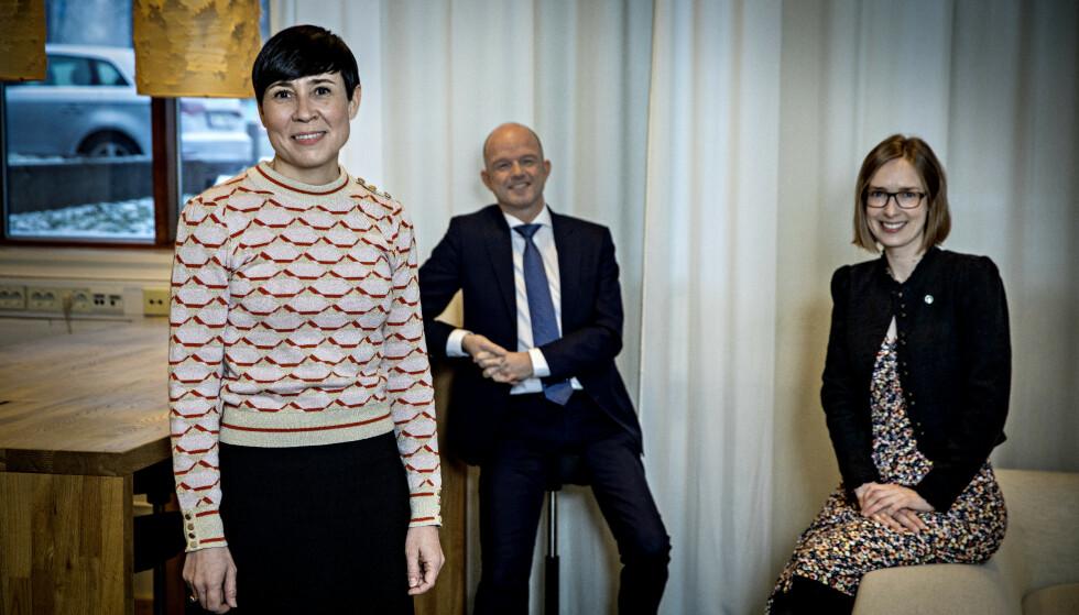 «GUTS»: Norske bedrifter må ha vilje og guts og satse på klimavennlig teknologi i det europeiske markedet. Foto: Jørn H.Moen / Dagbladet
