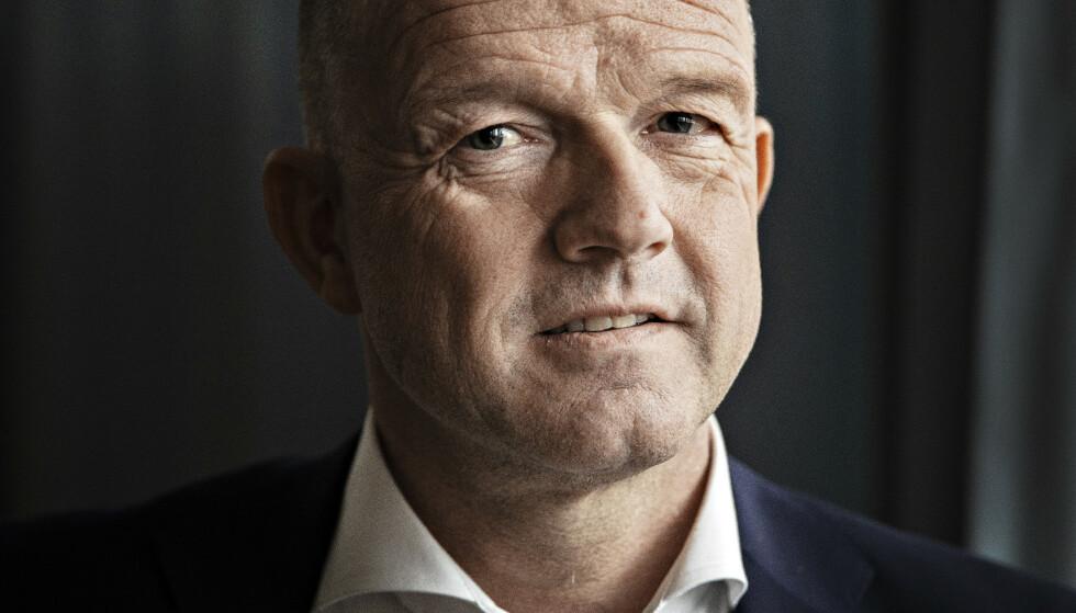 PROVOSERT: NHO-sjef Ole Erik Almlid blir provosert av dem som mener klimasatsingen går utover Distrikts-Norge. Foto: Jørn H.Moen / Dagbladet
