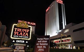 Her sprenges Trump-kasinoet