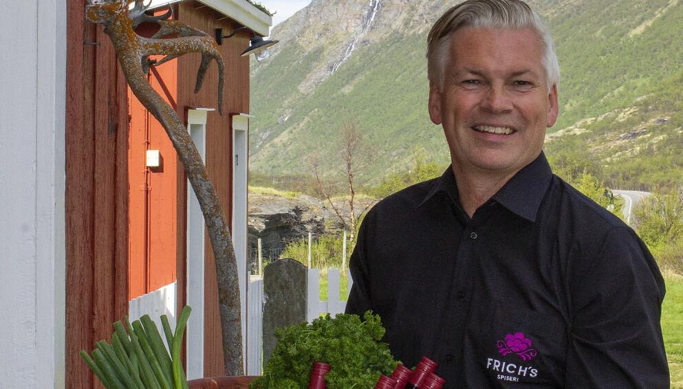 NULL STØTTE: En brann ved Frich's Motell & Spiseri på Oppdal gjør at Øyvind Frich kan se langt etter statlig støtte for det siste halvåret. Det opplever han som veldig frustrerende. Foto: Therese Enger