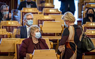 Frykter krisekaos på Stortinget