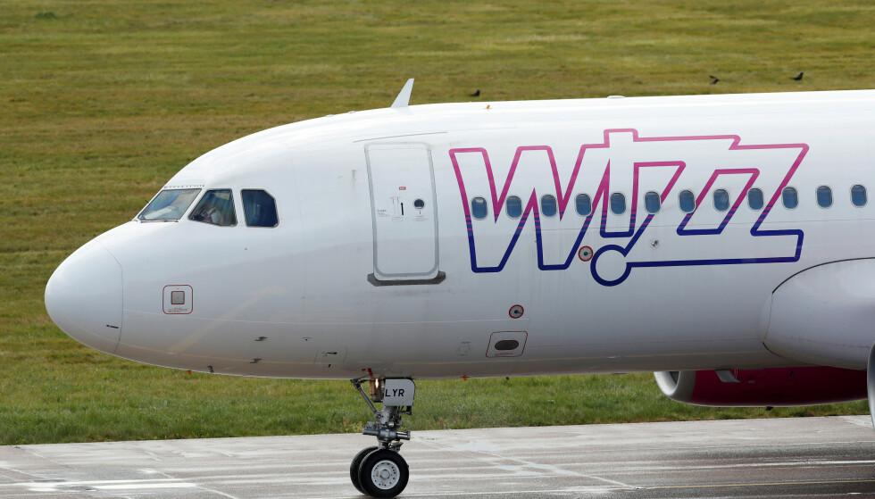STEVNING: Wizz Air stevner Agder fylkeskommune. Foto: REUTERS / Andrew Boyers / NTB