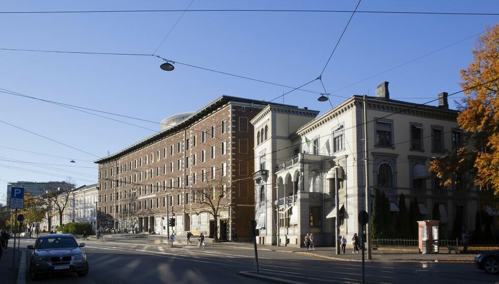 STASBYGG: Petter Stordalen bygger hotell i dette bygget i Sommerrogata 1 på Solli plass, opprinnelig ble det oppført Oslo lysverker i 1931. Foto: LPO Arkitekter