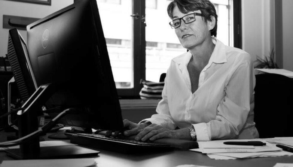 ANNERLEDES HVERDAG: Sjef i Oslo Guidebureau, Marit Utaker, jobber for tiden på en helsestasjon. - Noe jeg gjør fordi jeg tenker at det er nyttig. Foto: Oslo Guidebureau