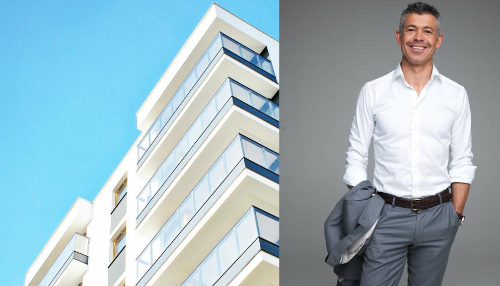 KJØPSHJELP: Hans Christian Espenes kjenner mange fra TV-skjermen. Nå hjelper han folk med boligkjøp også som megler. FOTO: NTB / PRIVATMEGLEREN