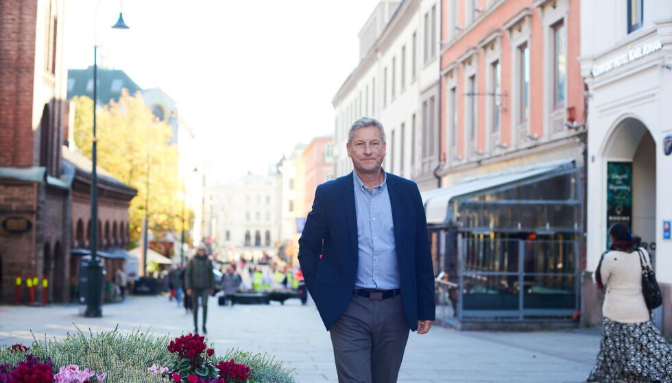 KLAR TALE: Administrerende direktør Bjørn Næss i Oslo Handelsstands Forening (OHF). Foto: Oslo Handelsstands Forening