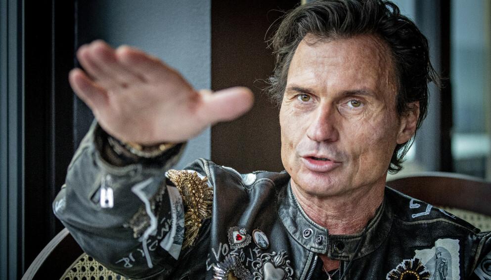 «LITE» PÅ KONTO: - Noen tror nok jeg har hundre millioner i banken, sier Petter Stordalen. Foto: Bjørn Langsem / Dagbladet