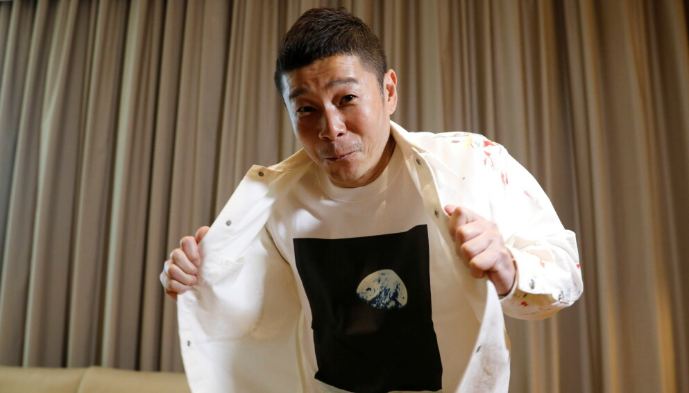 VIL SETTE REKORD: I samarbeid med SpaceX-gründeren Elon Musk, skal japaneren Yasaku Maezawa sende «helt vanlige folk» lenger unna jorda enn noe menneske noen gang har vært. Foto: Kim Kyung-Hoon / Reuters