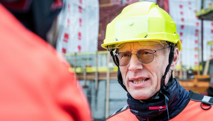 HULL-ALARM: Fellesforbundets nestleder Steinar Krogstad vil forebygge omgåelse av regelveket. Foto: John Trygve Tollefsen / Fellesforbundet