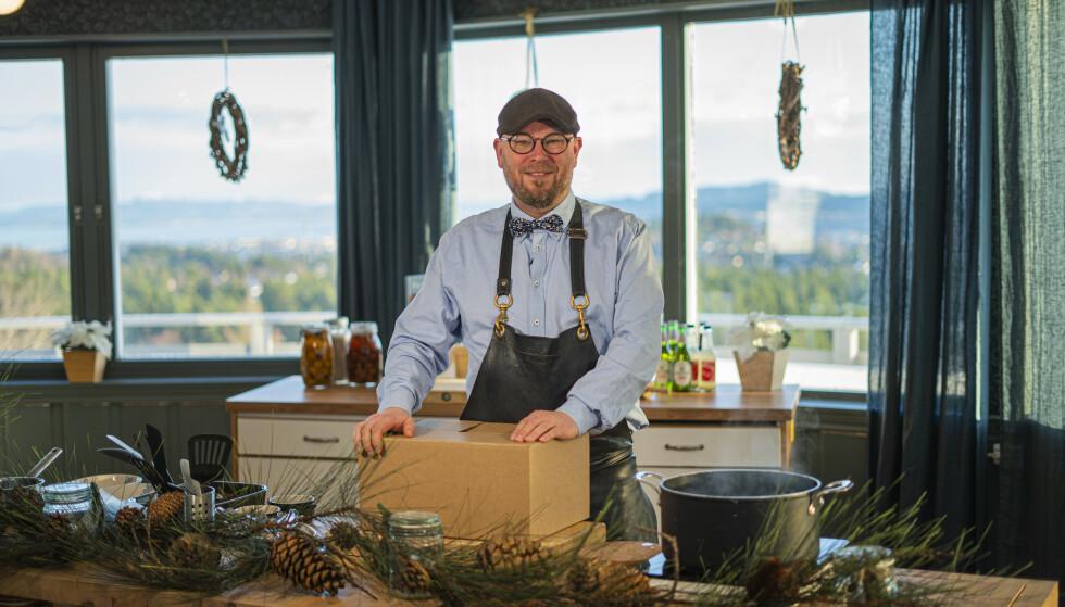 STENGER: Corona-pandemien har fått Inge Johnsen til å selge sitt livsverk, Lian restaurant. Foto: Adressa Studio