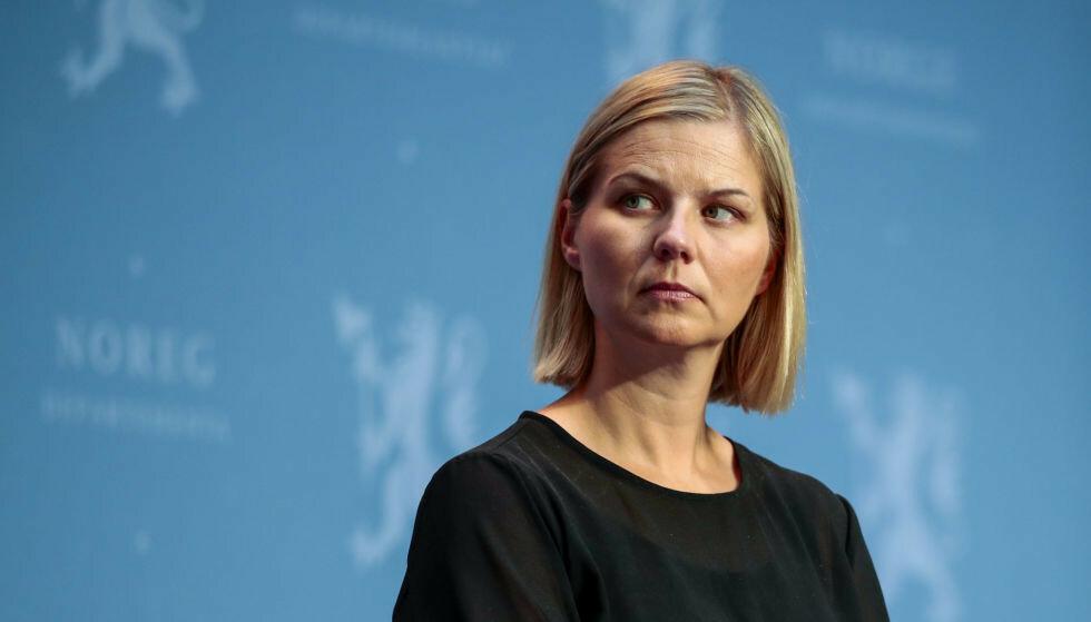 SYKELØNNSKUTT: Guri Melby og Venstre går til valg på å innføre en egenandel i sykelønna. Det provoserer mange.