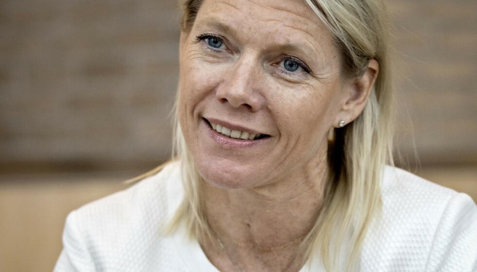 PÅSLAG: DNB-sjef Kjerstin Braathen fikk solid lønnsøkning gjennom coronaåret 2020. Foto: Jørn H. Moen