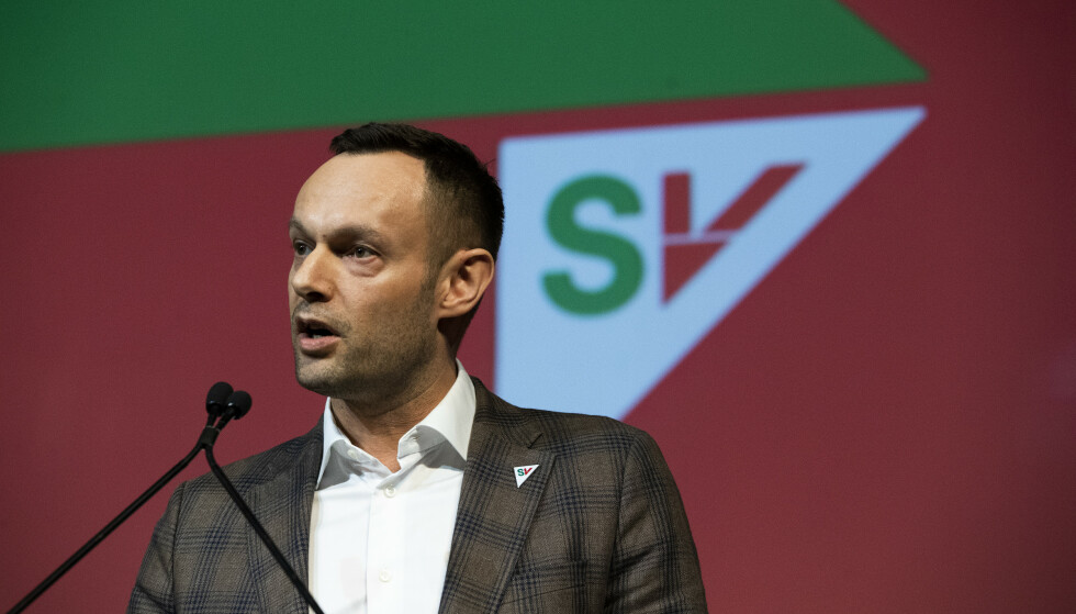 SKATT: Torgeir Knag Fylkesnes og SV legger fram et nytt skatteforslag for Stortinget. Det får tommelen opp fra Virke. Foto: Berit Roald / NTB