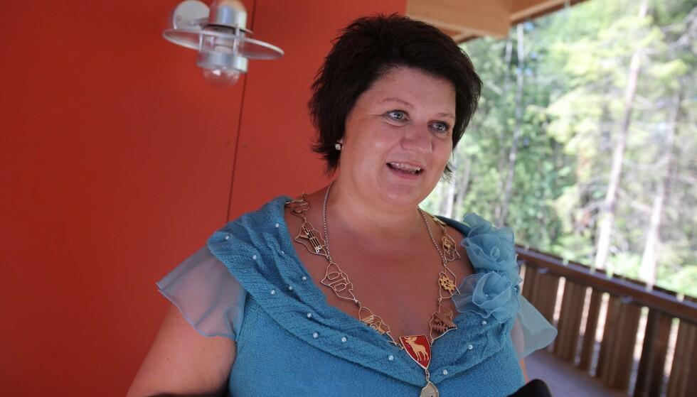 TANTE SOFIE: Ordfører i Ringsaker kommune, Anita Ihle Steen, er klar for invasjon på hyttene til påske. Arkivfoto: Audun Braastad / NTB