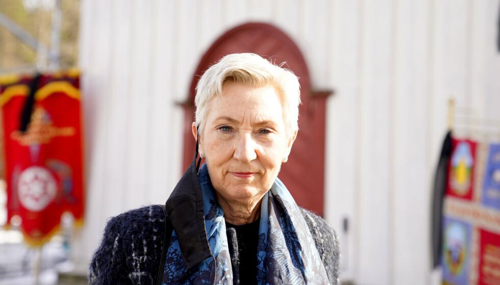 Peggy Hessen Følsvik måtte overta som leder i LO da Hans-Christian Gabrielsen gikk bort så brått tirsdag 9. mars. Foto: Håkon Mosvold Larsen / NTB