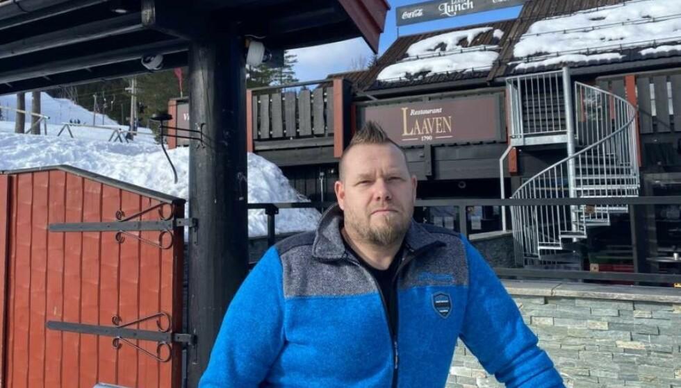 LAAVEN: Tommy Åsheim driver Restaurant Laaven i Trysilfjellet. Foto: Privat