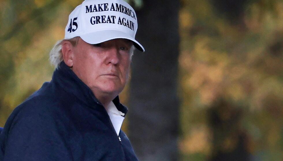 TAPER PENGER: Formuen til USAs forrige president, Donald Trump, krymper. Foto: REUTERS/Carlos Barria
