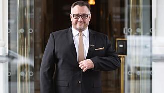STENGER: - Vi var klare for en fantastisk påske, og gikk fra å være fullbooket til å permittere 300 ansatte istedenfor, sier hotelldirektør Mikael Forselius ved Britannia. Foto: Wil-Lee Wright / Britannia Hotel