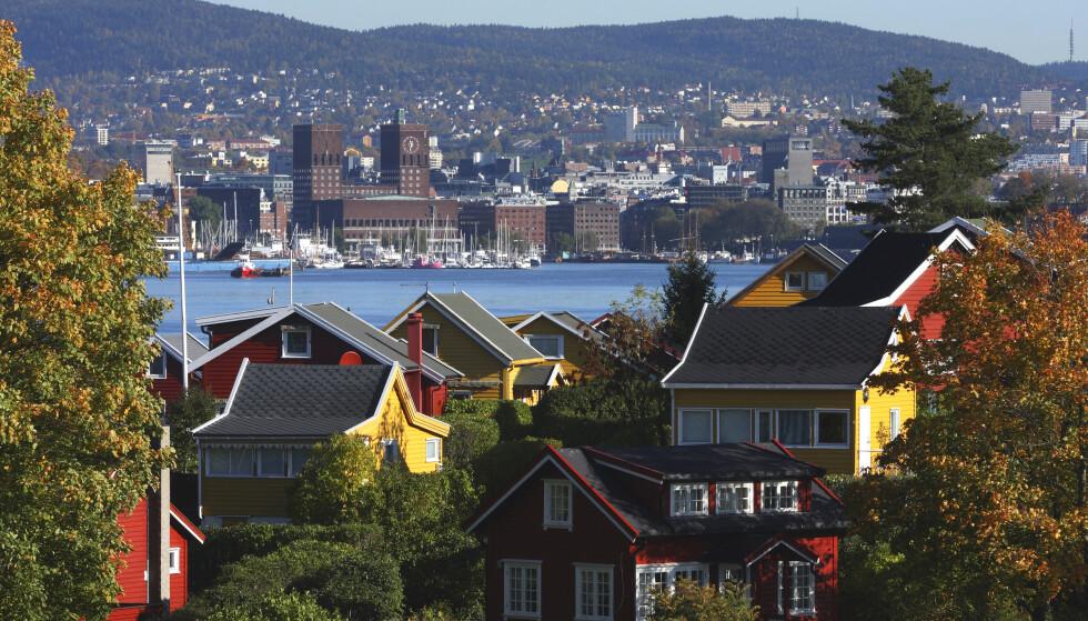 LUKSUS: Hytteeiere i Oslofjordens indrefilet varsler gigantsøksmål mot Oslo kommune. Foto: Espen Bratlie / Samfoto
