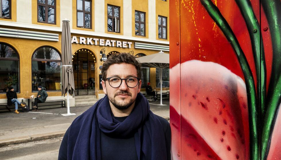 ENDELIG: Parkteatrets daglige leder Dan-Michael Danino er fortsatt bekymret på bransjens vegne, men gleder seg over håndsrekningen fra Oslo kommune. Foto: Hans Arne Vedlog / Dagbladet