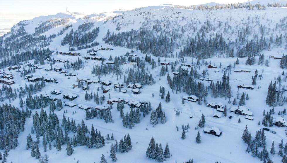 ØSTSIDA: Kvitfjellåsen Velforening er misfornøyde med utviklinga på østsida av Kvitfjell. Foto: Gorm Kallestad / NTB