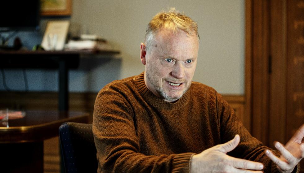 UROLIG: Raymond Johansen liker ikke signalene fra regjeringen om flere arbeidsinnvandrere. Foto: Nina Hansen / DAGBLADET