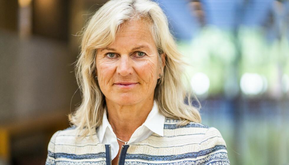 POSITIV: Direktør i NHO Reiseliv, Kristin Krohn Devold, tror på en ketsjup-effekt i turistnæringen når folk igjen får mulighet til å reise. Foto: Foto: Håkon Mosvold Larsen / NTB