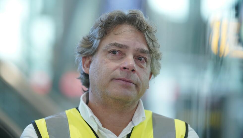 Leder i Pilotforbundet, Oddbjørn Holsether, mener lekket lydfil avdekker sviktende sikkerhet i Wizz Air. Foto: Fredrik Hagen / NTB