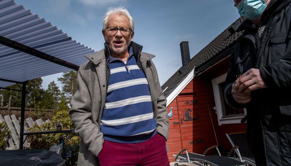KARANTENE-REFSER: Kjell Tore Olsen tilbringer vinteren, i likhet med tusenvis av andre nordmenn, i Spania. Foto: Lars Eivind Bones / Dagbladet