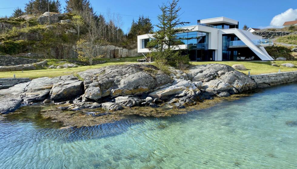 FULLBOOKET: Denne eiendommen på Sotra utenfor Bergen har allerede sikret seg leietakere for fellesferien. Foto: Privat