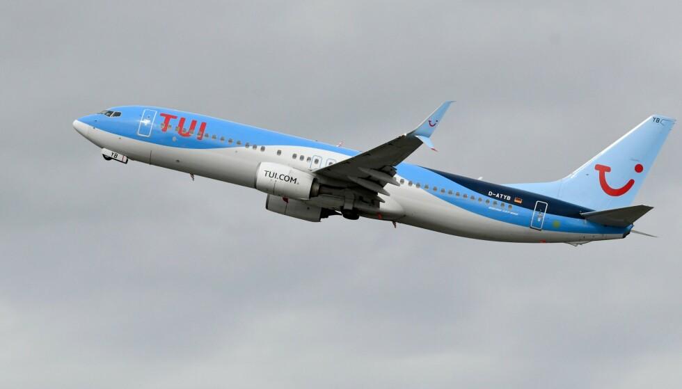 TOK FEIL: En feil i flyselskapet Tui sitt IT-system gjorde at kapteinen trodde at flyet veide 1200 kilo mindre enn det faktisk gjorde. Foto: Ina Fassbender / AFP / NTB