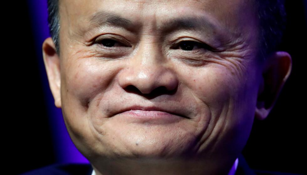 GIR ETTER: Alibaba-grunnlegger Jack Mas betalingsselskap gir etter for myndighetenes krav og styrer dermed igjen mot børsnotering. Foto: REUTERS/Charles Platiau, Reuters / NTB