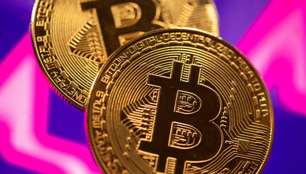 KAN GI KLIMASMELL: Utvinning av kryptovalutaer som bitcoin krever store mengder strøm og kan gjøre det vanskelig for Kina å nå sine klimamål, viser en studie i Nature. Illustrasjonsfoto: Dado Ruvic / Reuters / NTB