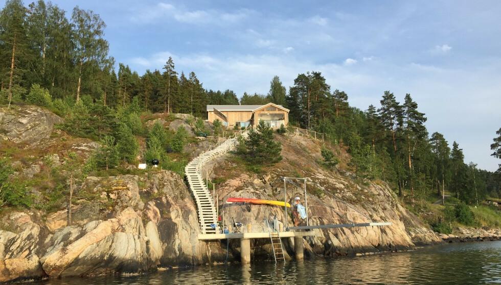 - GOD REKLAME: Bjørn Kringstads fritidseiendom i Vinterbro er blant boligene som er blitt frontet i «Exit». Foto: Bjørn Kringstad