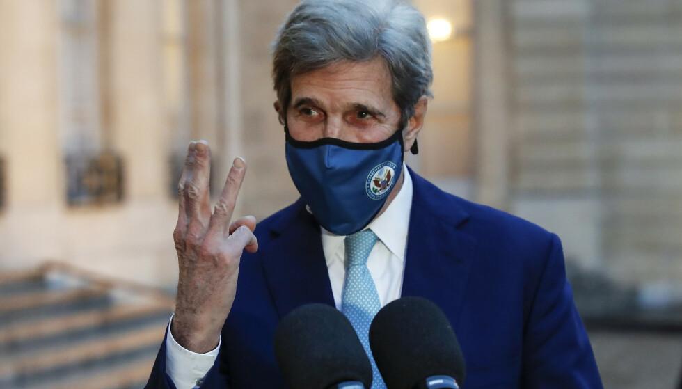 ETTERSPØR RESULTATER: USAs klimautsending John Kerry ber Brasil følge opp sin kunngjøring med konkrete resultater. Arkivfoto: Michel Euler / AP / NTB