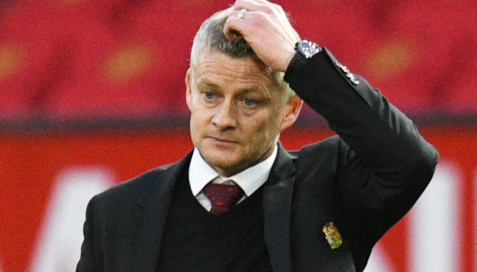 MILLARDTAP: Ole Gunnar Solskjærs Manchester United har tapt mye på pandemien. Foto: NTB