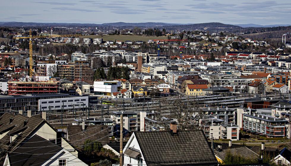UTBRUDD: Minst 14 bygningsarbeidere er smittet i Lillestrøm. Foto: Nina Hansen / DAGBLADET