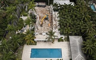 «Skrekkhuset» jevnet med jorda