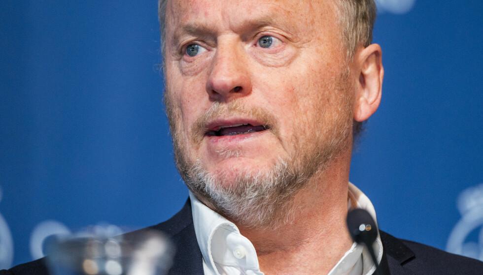 Byrådsleder Raymond Johansen (Ap) advarer regjeringen mot å lytte til NHOs bønn. Foto: Håkon Mosvold Larsen / NTB