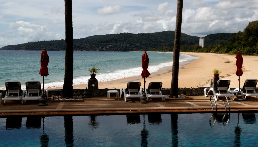 TOMT: Folketomt strandhotell på Phuket. Foto: Jorge Silva, Reuters/NTB