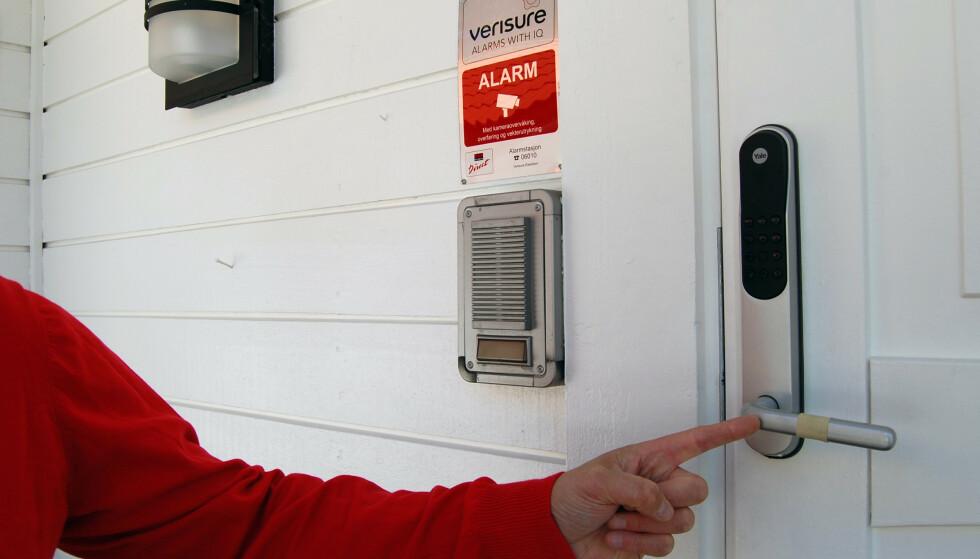 SØKSMÅL: En forening går til søksmål mot alarmselskapene Verisure og Sector Alarm fordi de mener at selskapene har overfakturert kundene i perioden 2011 til 2017. Foto: Verisure