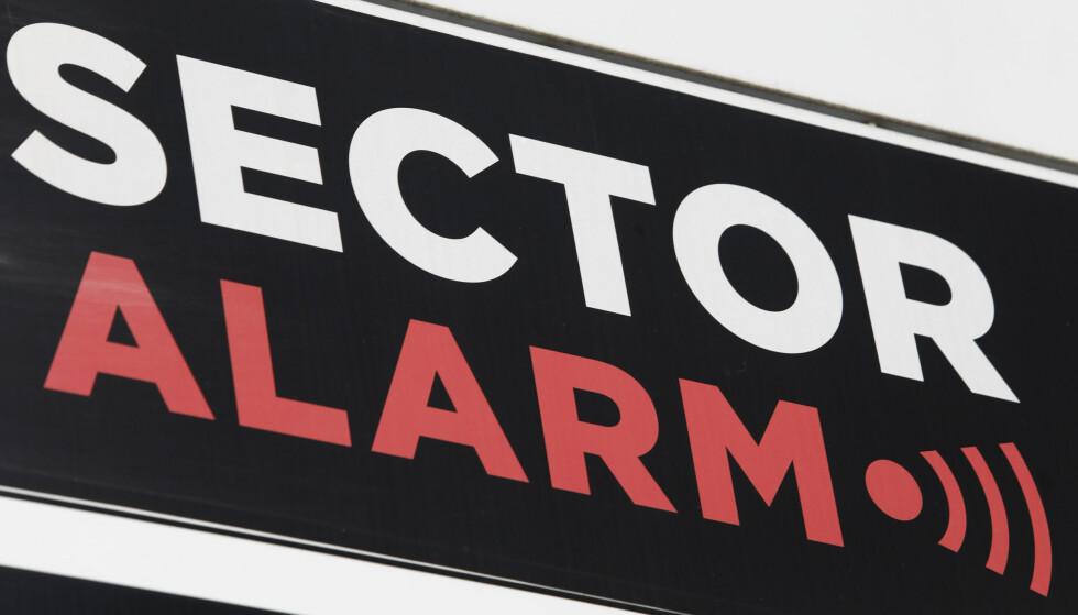 MILLIARD-GEBYR: Konkurransetilsynet ila i november alarmselskapene Verisure og Sector Alarm et gebyr på til sammen 1,2 milliarder kroner for ulovlig prissamarbeid. Foto: Terje Bendiksby / NTB